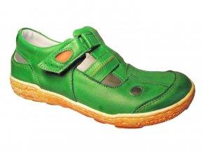 Dámská letní obuv Hilby 2033 zelená