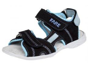 Chlapecké letní sandálky Fare 1761311 černé