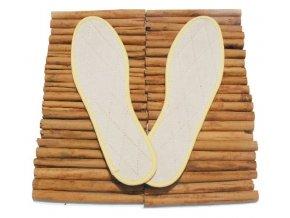 Skořicové vložky do bot