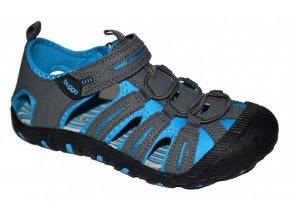 Dětské sportovní sandály Bugga B00118 šedá