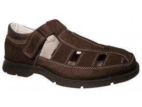 Pánská letní obuv Redno 1902 hnědá