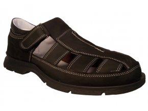 Pánská letní obuv Redno 1902 černá