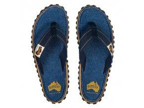 Textilní žabky Gumbies Islander modré
