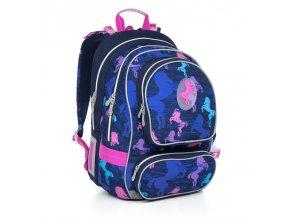 Školní batoh Topgal CHI 803 koníci