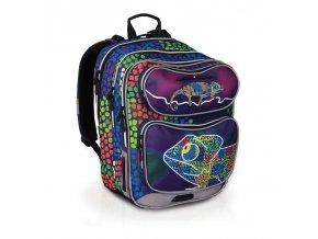 Školní batoh Topgal CHI 602 chameleon