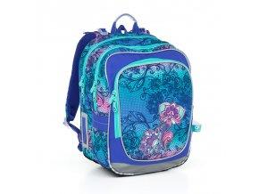 Školní batoh Topgal CHI 786 květiny