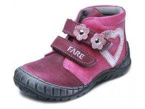 Dětské celoroční kotníkové boty Fare 820191 růžové