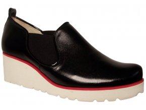 Dámské celoroční boty na platformě Kira 2563 černé