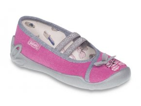 Dětské textilní bačkůrky Befado 116X201 růžové