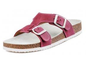 Dětské zdravotní pantofle Barea 046050 růžové