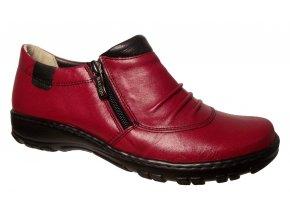 Dámské celoroční boty Barton 17216 červené