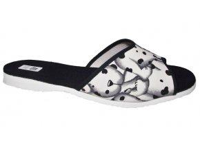 Dámské domácí pantofle Bokap 003 bílá