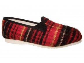 Dámské domácí papuče Bokap 082 červená