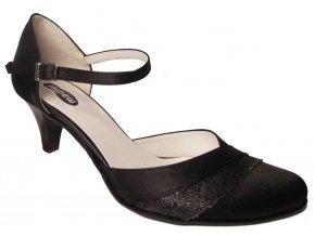 Dámská společenská obuv Madler 145-SM černá
