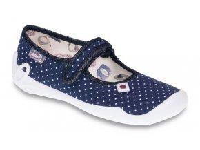 Dětské textilní bačkůrky Befado 114y216