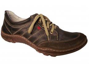 Pánská vycházková obuv Madler 0265 hnědá