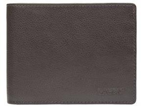 Pánská kožená peněženka Lagen W-184 hnědá