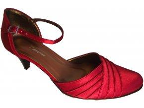 Dámská společenská obuv NES 2525 červená