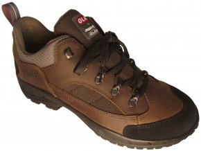 Pánská treková obuv Olang Canyon.Tex hnědá