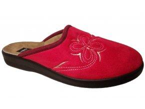 Dámské domácí pantofle Rogallo 3100 červené