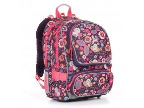 Školní batoh Topgal CHI 844 květiny