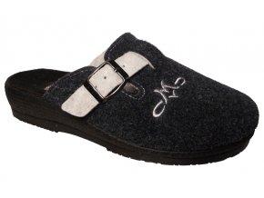 Dámské domácí pantofle Rogallo 3101 modré