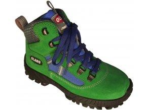 Dětská kotníková treková obuv Olang Cortina kid.Tex zelená