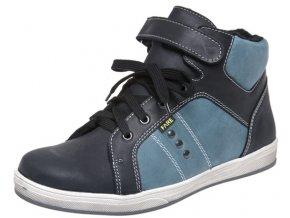 Dětské zimní kotníkové boty Fare 2649112 černé