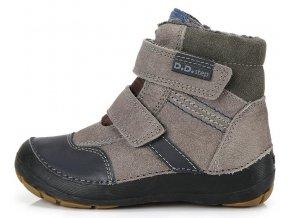 Dětské zimní kotníkové boty D.D.step 023 šedé