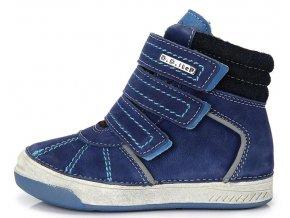 Dětské zimní kotníkové boty D.D.step 040 modré