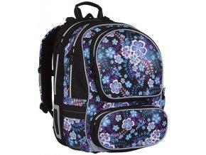 Školní batoh Topgal CHI 746 květinový motiv