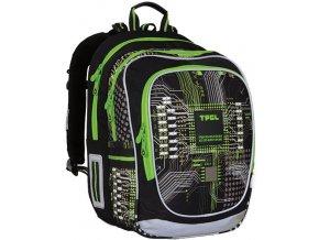 Školní batoh Topgal CHI 741 motiv počítačového čipu