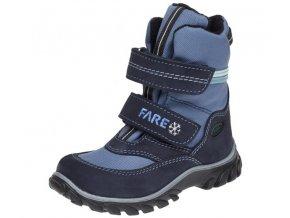 Dětské zimní kotníkové boty Fare 848205 modré