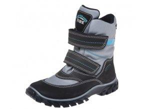 Dětské zimní kotníkové boty Fare 2646205 černé
