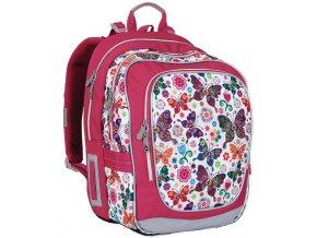Školní batoh Topgal CHI 740 s motýlky