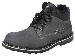 Pánská zimní kotníková obuv Fare 1202261 šedá