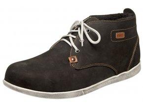 Pánská zimní kotníková obuv Fare 2205211 černá