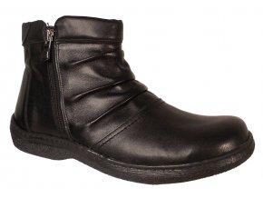 Dámská zimní kotníková obuv Kira 615 černá