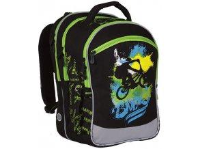 Školní batoh Topgal CHI 751 motiv BMX bikera