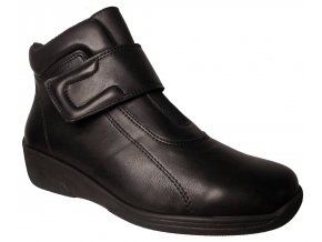 Dámská zimní obuv suchý zip Kira 1330 černá
