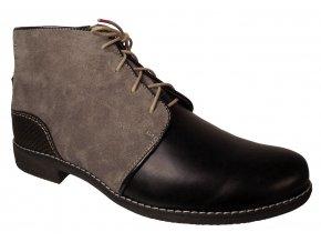 Dámská zimní kotníková obuv Kira 243 šedá