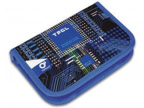 Školní penál Topgal CHI 762 motiv počítačového čipu
