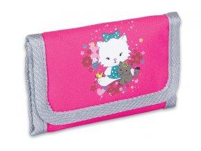 Dětská peněženka Topgal CHI 672 motiv kočičky
