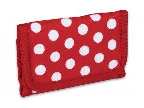 Dětská peněženka Topgal CHI 671 bílé puntíky