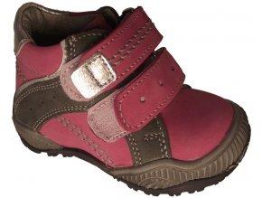 Dětské celoroční boty Essi S 2502 růžová