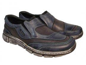 Pánská vycházková obuv Hilby Krisbut 4857 modrá