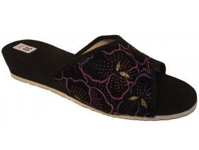 Dámské domácí pantofle Bokap 010 černá