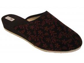 Dámské domácí pantofle Bokap 016 černá