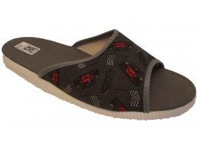 Dětské domácí pantofle Bokap 033 šedá