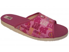 Dětské domácí pantofle Bokap 033 růžová